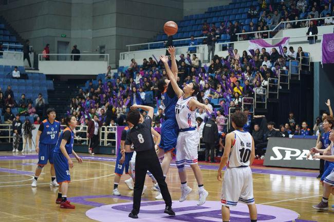 CUBA|清華女籃勝!冠軍爭奪戰的精彩瞬間