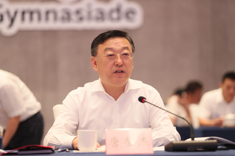 第18届世界中学生运动会组委会成立大会暨第一次全体会议在晋江召开