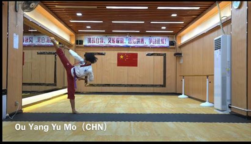 捷报:中国中学生代表团在2020年世界中学生跆拳道品势线上锦标赛上收获3金3银1铜